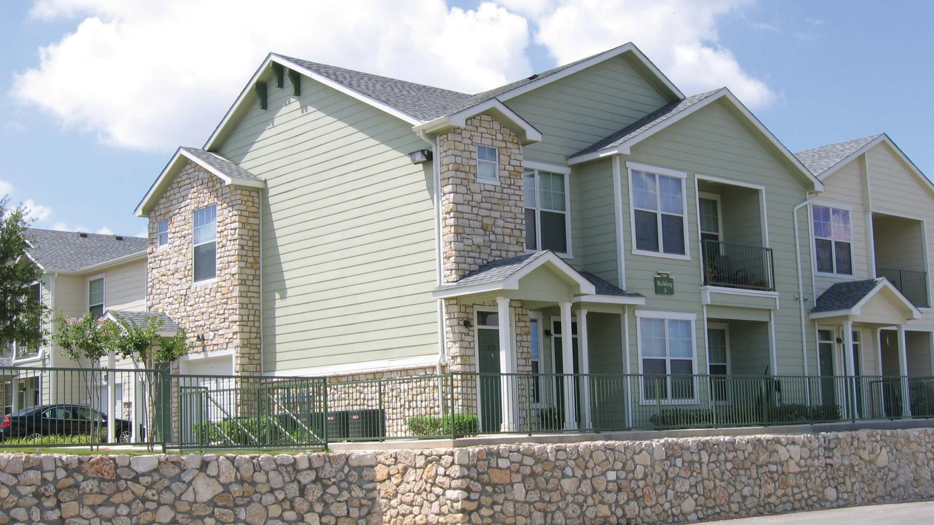 Townhome Exterior at Springs at Live Oak in Live Oak
