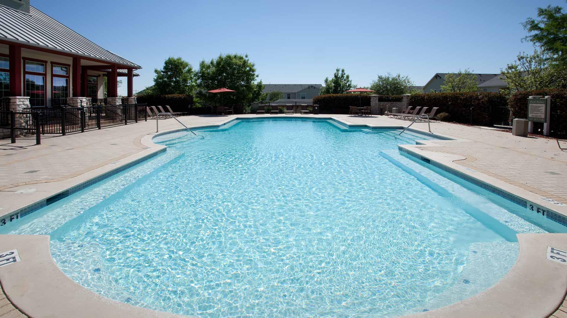Pool at Springs at Live Oak in Live Oak, TX