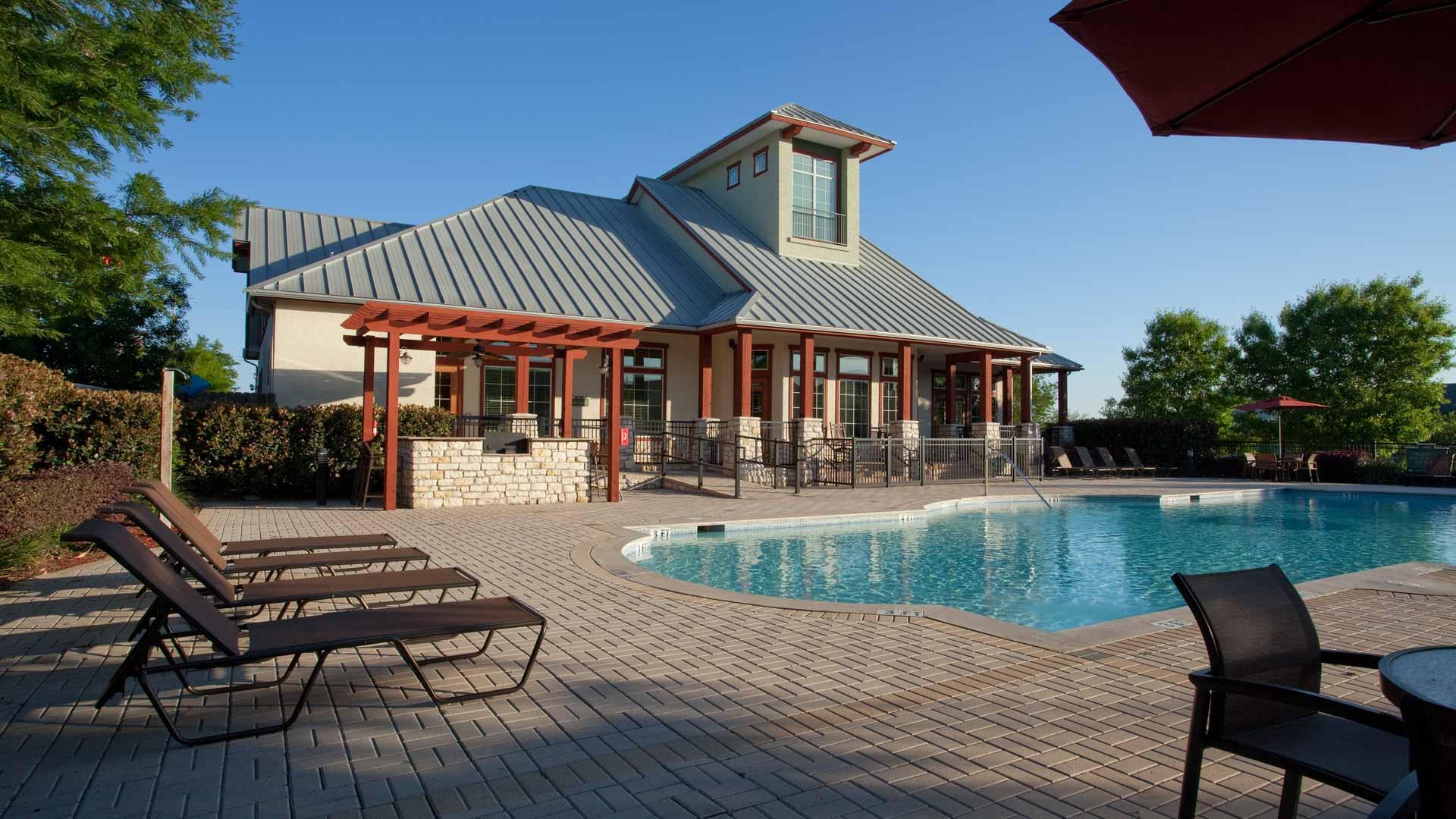 Pool at Springs at Live Oak in Live Oak, TX-24