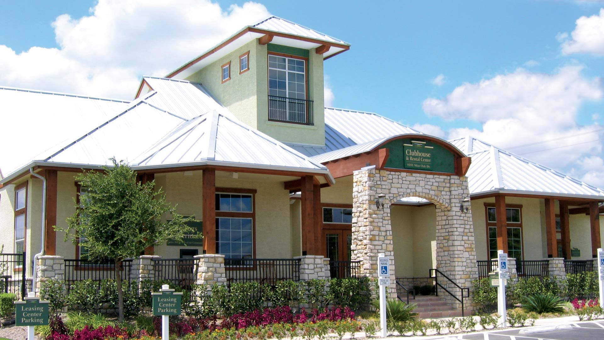 Stunning Community Clubhouse at Springs at Live Oak in Live Oak, TX