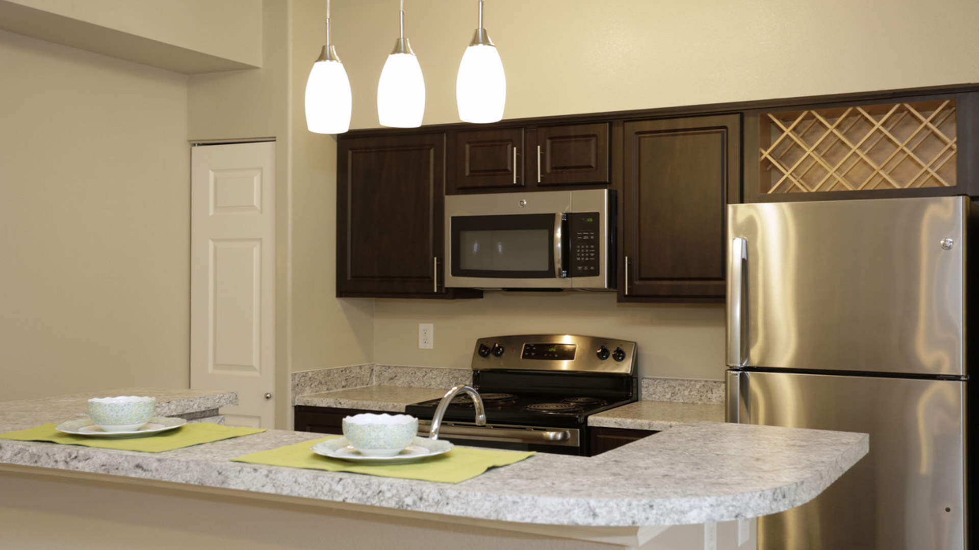 Stainless Steel Appliances at Springs at Live Oak in Live Oak, TX