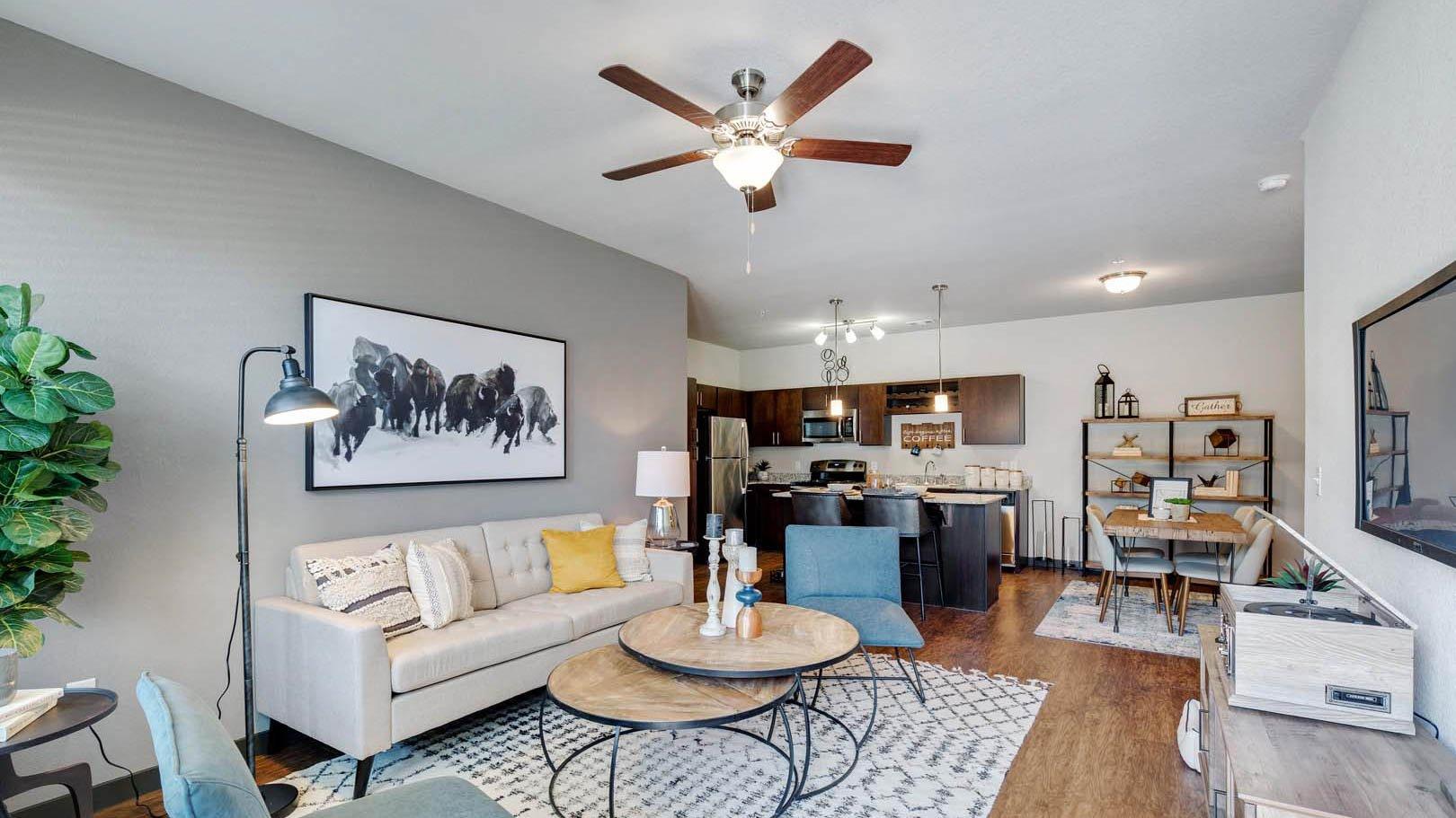 Living Room in Rosenberg, TX