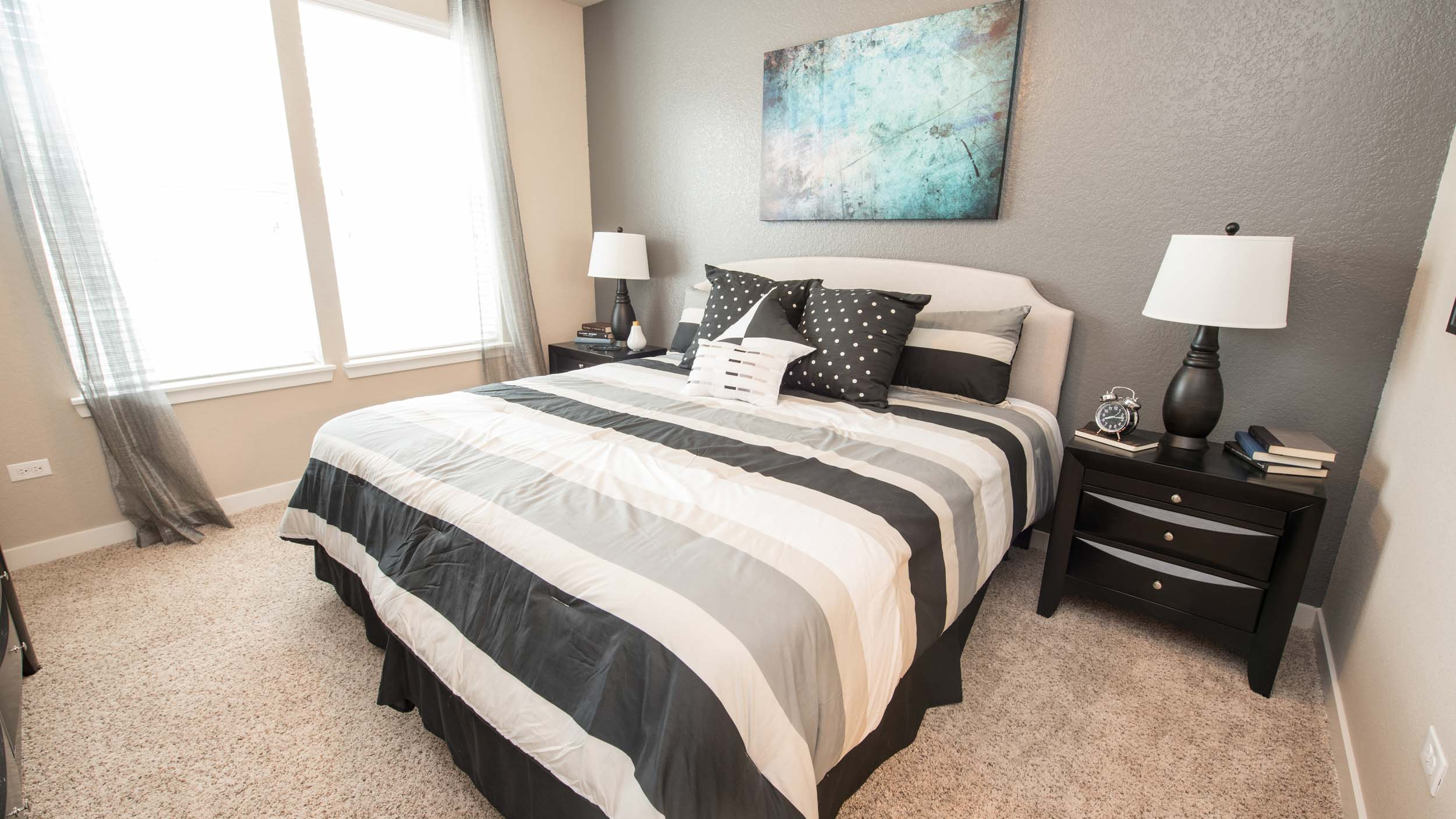 Master Suite in Romeoville, IL at Springs at Weber Road Apartments