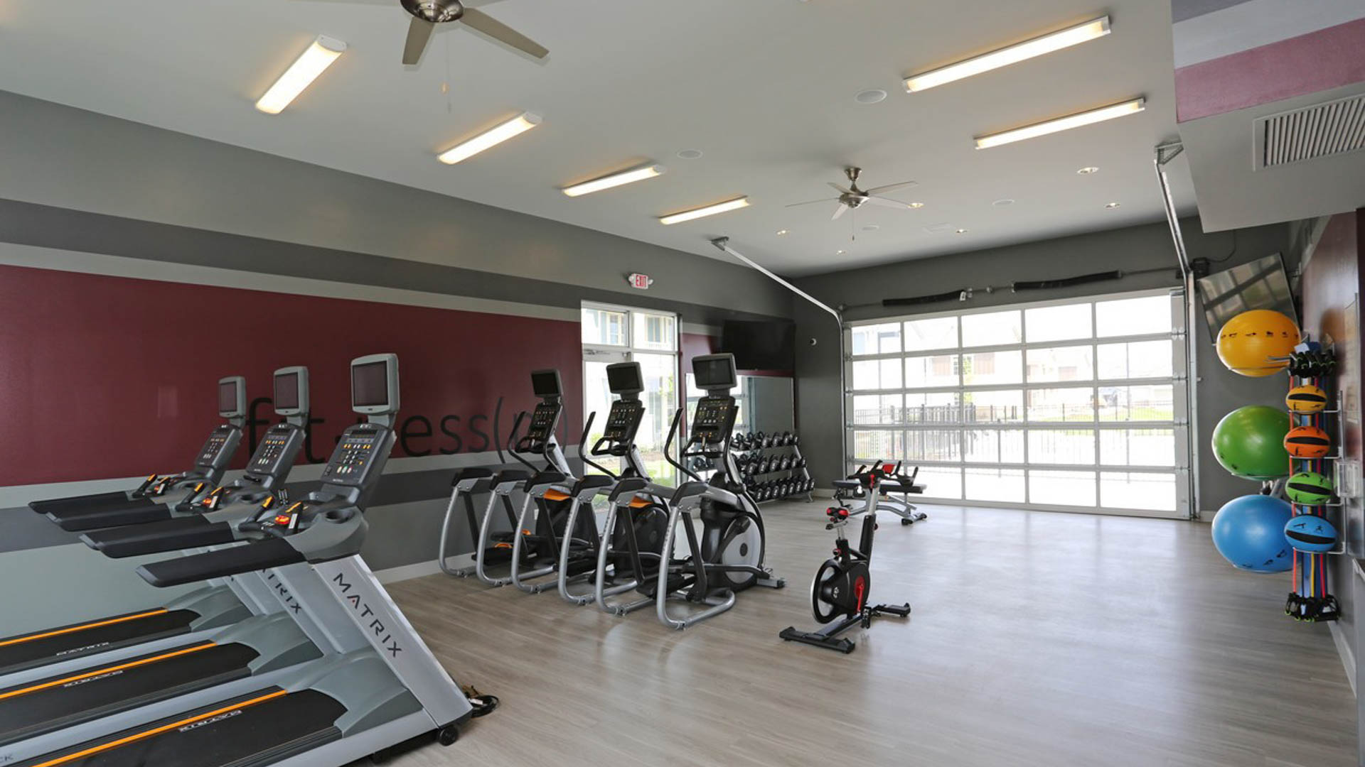 Gym Springs at Sun Prairie Apartments in Sun Prairie WI