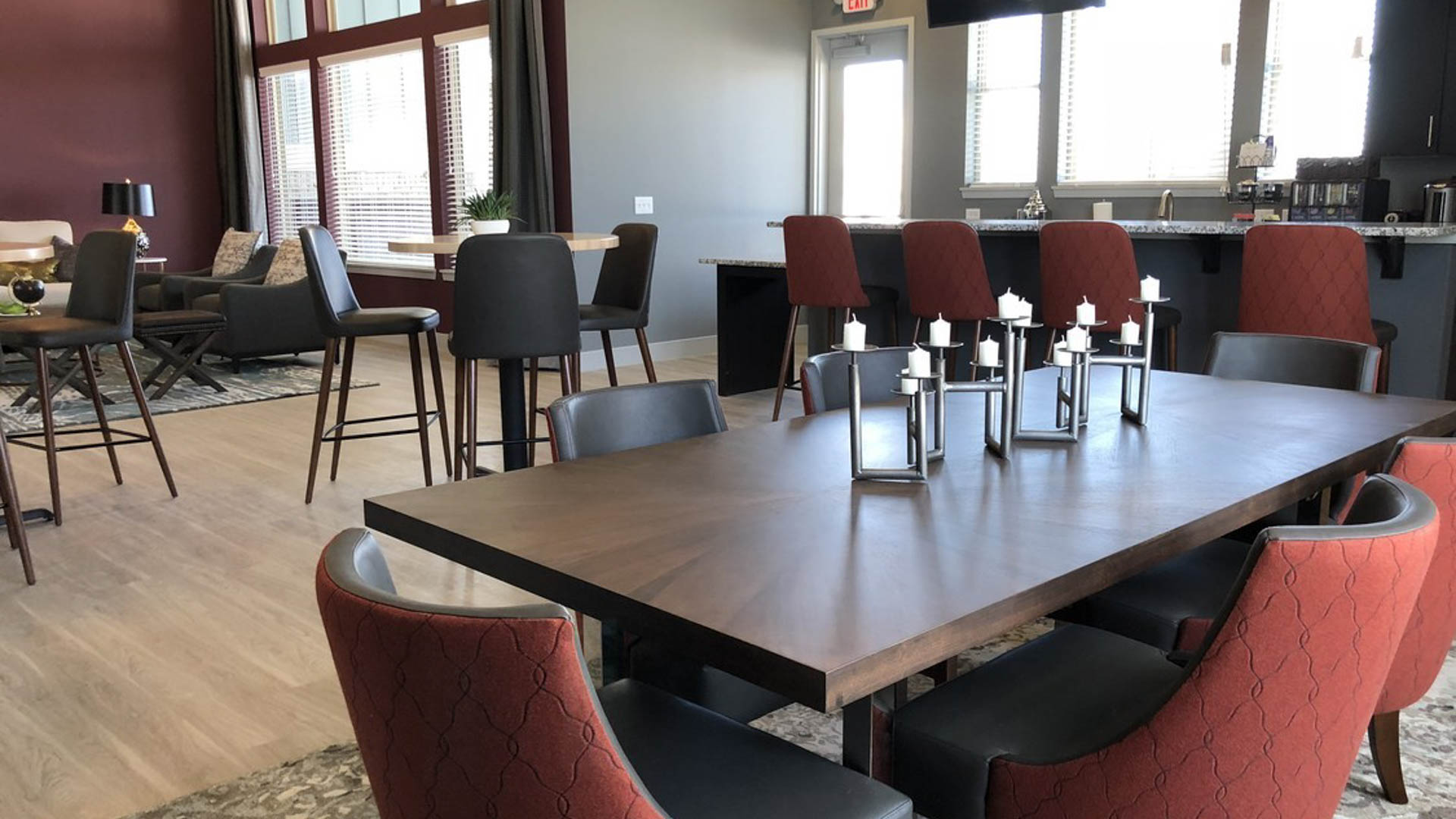Community Clubhouse Bistro  at Springs at Sun Prairie Apartments in Sun Prairie WI-4-1
