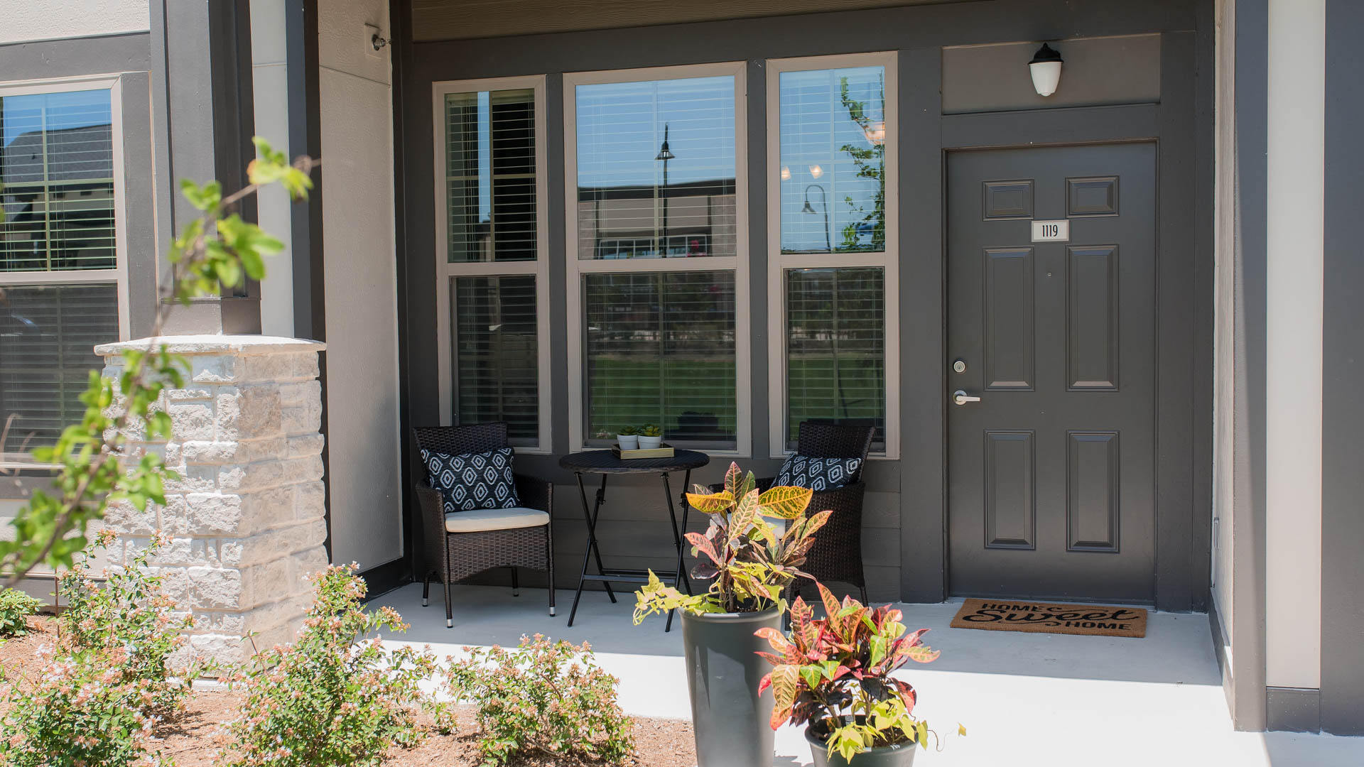 Lower Apartment Exterior at Springs at Sunfield Apartments In Buda TX-32