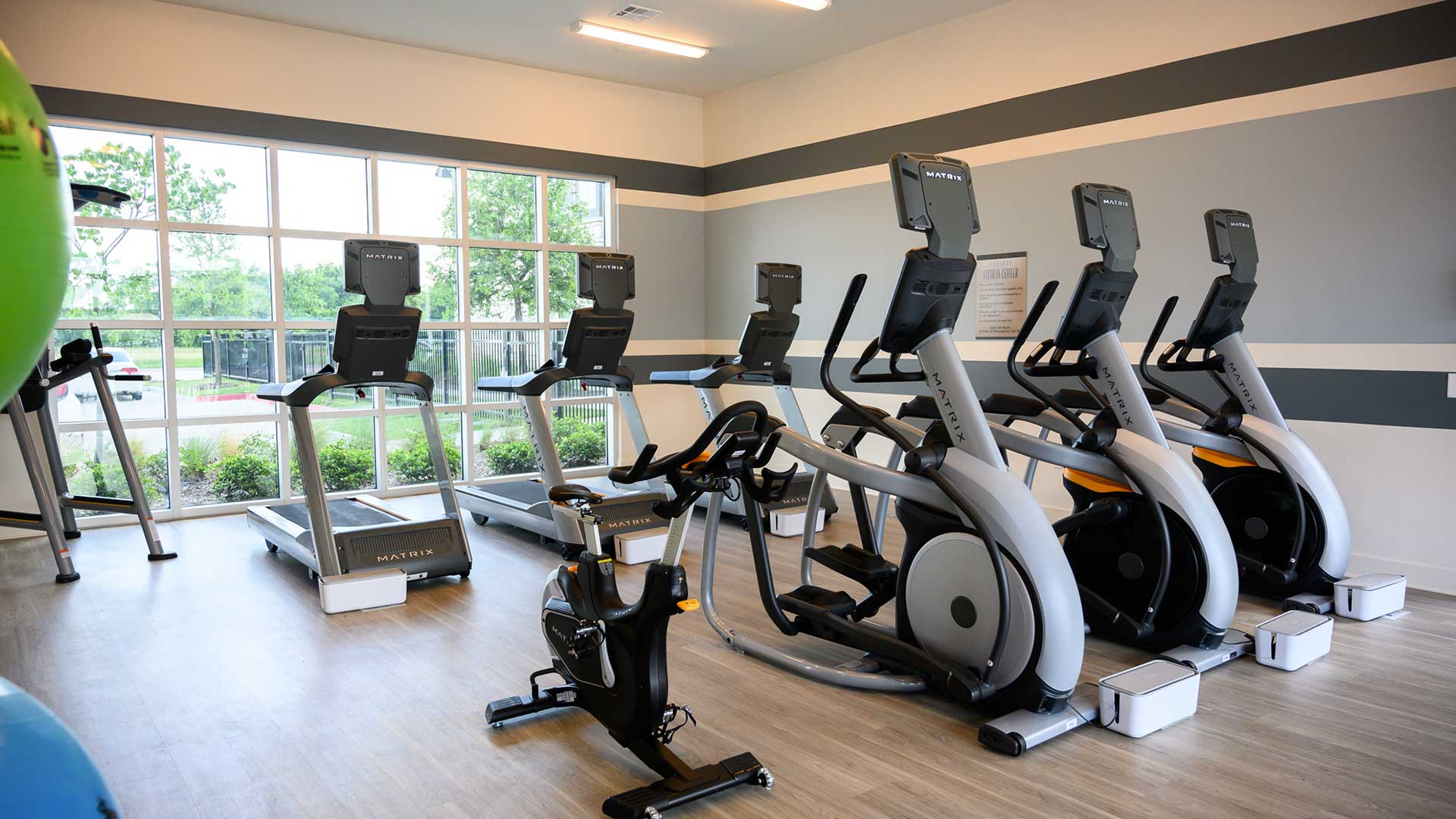 Full equipment fitness center